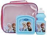 Disney Frozen 3-Piece Lunch Bag/ Bottle and Sandwich Box, Set of 3