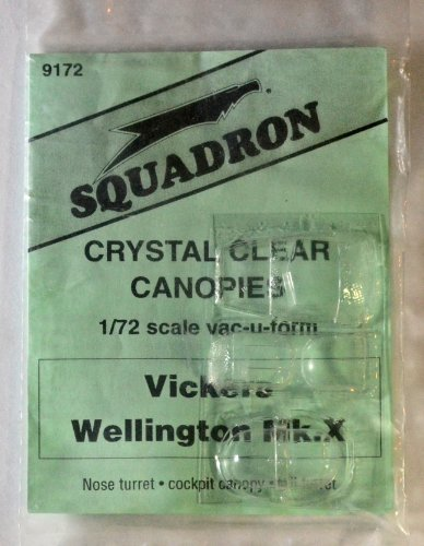 Squadron Products  Vickers Wellington Mk.X Canopy