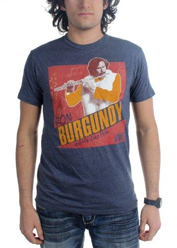 Anchorman -  T-shirt - Uomo blu navy XX-Large