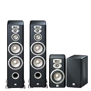 JBL Studio L Series High Performance 4.0 Home Theater Speaker System (2-L890 & 2-L830)