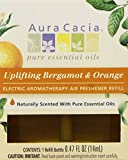 Aura Cacia Uplifting Bergamot and Orange Electric Aromatherapy Air Freshener Refill,  0.47 Ounce -- 3 per case.