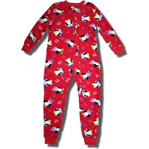 Sweet Penguin Blanket Sleeper For Girls - Small (6/6X) front-1081933