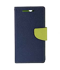 Zocardo Fancy Diary Wallet Flip Case Cover for Micromax A350 Canvas Knight -Blue , cover with magnetic flap, inner pockets