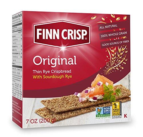 Finn Crisp Crispbread, Original, 7 Ounce (Pack of 9) (Crispy Rye Bread compare prices)