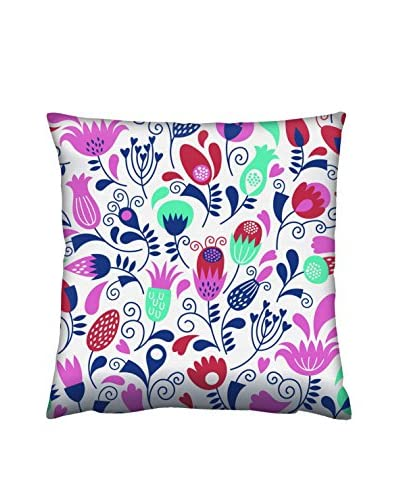 Gravel Floral Tapestry Throw Pillow, Multi