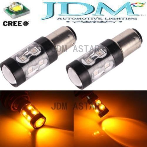 Jdm Astar Super Bright Max 50W High Power 1156 1141 1073 3496 7506 Led Bulbs ,Amber Yellow