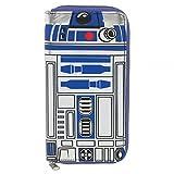 BIOWORLD 【バイオワールド STA RWARS スターウォーズ R2-D2 ラウンドジップ ウォレット 長財布 白 / 青】【並行輸入品】
