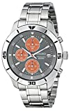 Seiko Mens SKS415 Amazon-Exclusive Stainless Steel Watch