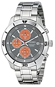 Seiko Men's SKS415 Amazon-Exclusive Stainless Steel Watch