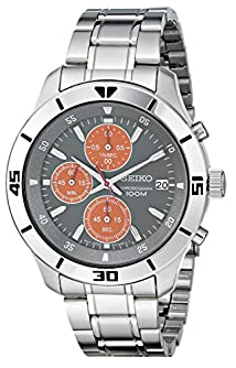 Seiko Men's SKS415 Amazon-Exclusive Stainless Steel Watch