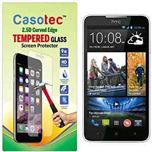 Casotec 2.5D Curved Edge Tempered Glass Screen Protector for HTC Desire 516