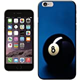Lucky Magic Black Pool Ball Number 8 Hard Case for Apple iPhone 6
