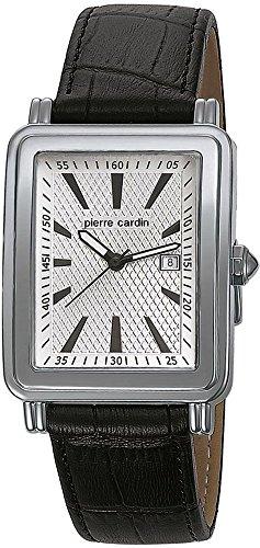 Pierre Cardin Special Collection Orologio da Polso da Uomo, Cinturino in Pelle Colore Nero