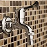 Faucet Outdoor Handle Bathroom Laundr...