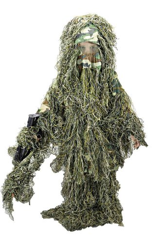 Woodland Camo Ghillie Suit