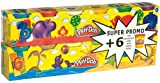 Play-Doh - Pack de 6+6 botes (23023186)