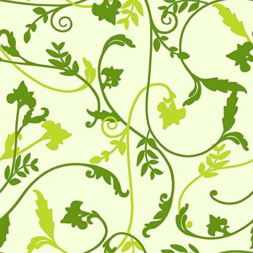 Tovaglia in tela cerata plastificata rettangolare 140 x 200cm, Verde