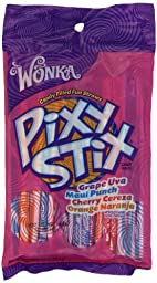 Wonka Pixy Stix, 3.2-Ounce Bags (Pack Of 12)
