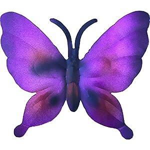 22cm Metallic Garden Butterfly Purple from PMS International