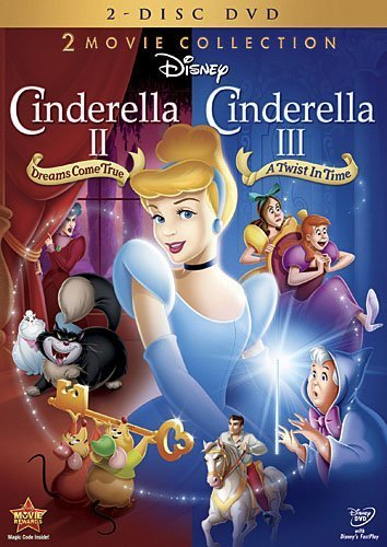 Cinderella II: Dreams Come True / Cinderella III: A Twist In Time (Two-Disc DVD Collection) by Walt Disney Studios Home Entertainment
