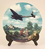 Royal Doulton Hampden Morning Exercise Heroes of the Sky plate CP674
