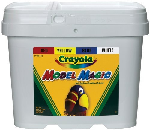 Crayola Model Magic Modeling Compound 2-Lbs. - 4 Colors