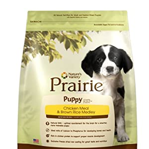 Amazon: Extra 50% OFF on Nature's Variety Prairie Puppy Food