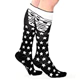 Carrots Knee Hi Rider Horse Riding Sock Black/Silver Star