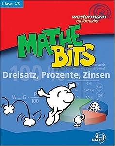 mathe bits dreisatz prozente zinsen klasse 7 8 software. Black Bedroom Furniture Sets. Home Design Ideas