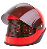 PT Silly Alarm Clock Motor Helmet Abs, Red