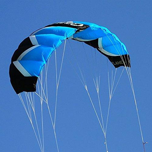 Qunlon Q2 4-Line Traction Lenkdrachen Macht Kites Sport Strand Kites