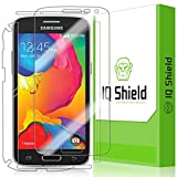 IQ Shield LiQuidSkin - Samsung Galaxy Avant Screen Protector + Full Body (Front and Back) - High Definition (HD) Ultra Clear Smart Film - Premium Protective Screen Guard - Extremely Smooth / Self-Healing / Bubble-Free Shield - Kit comes with Retail Packaging and 100% Lifetime Replacement Warranty