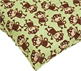 Carters Quilted Woven Playard Fitted Sheet, Monkey