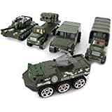Military Vehicle Gift Set. Toy Tank Jeep Humvee Military Truck Lorry Car Set.
