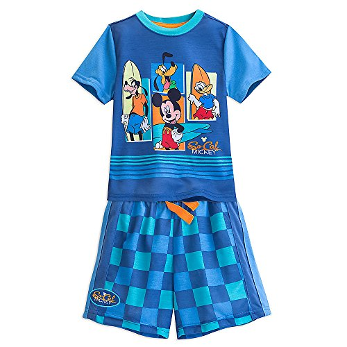 """Disney Mickey Mouse and Friends """"Fab 4"""" PJ PALS Pajamas Set for Boys (5/6)"""