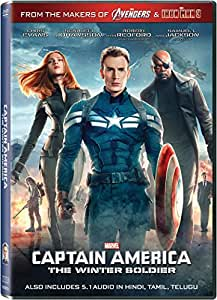 Amazon.in: Buy Captain America - The Winter Soldier DVD ...