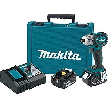 Makita XST01M Cordless 3-Speed Impact Driver Kit