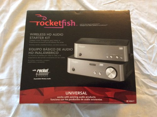Rocketfish Universal Wireless Hd Audio Starter Kit Rf-Rbkit