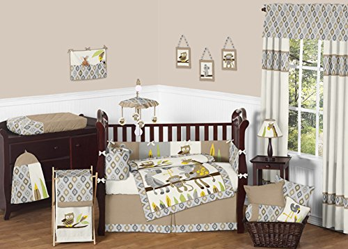 Sweet Jojo Designs Safari Outback Crib Bedding