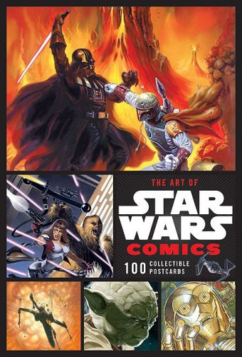 The Art of Star Wars Comics Collectible Postcards