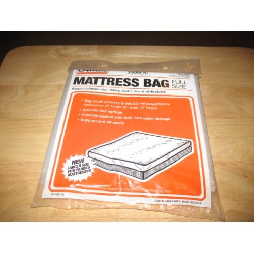 Amazon.com : Uhaul Mattress Bag Full Size : Other Products ...