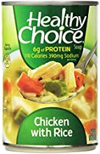 Healthy Choice Chicken and Rice Soup 15-Ounce Pack of 12