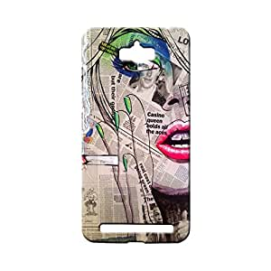 BLUEDIO Designer 3D Printed Back case cover for Asus Zenfone Max - G0053