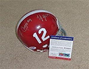 T.J. Yeldon & Amari Cooper Signed Alabama Mini Helmet RookieGraph R84515 - PSA... by Sports+Memorabilia
