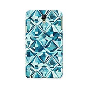 ArtzFolio Diamonds : Samsung Galaxy Note 3 Neo Matte Polycarbonate ORIGINAL BRANDED Mobile Cell Phone Protective BACK CASE COVER Protector : BEST DESIGNER Hard Shockproof Scratch-Proof Accessories