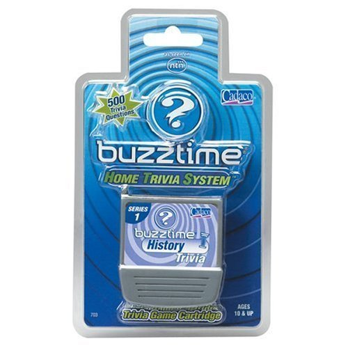 NTN Buzztime History Trivia Game Cartridge - 1