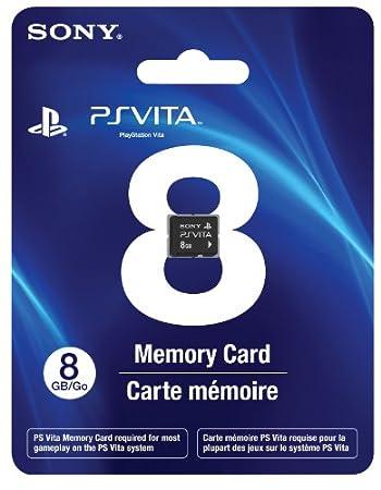 PS Vita 8GB Memory