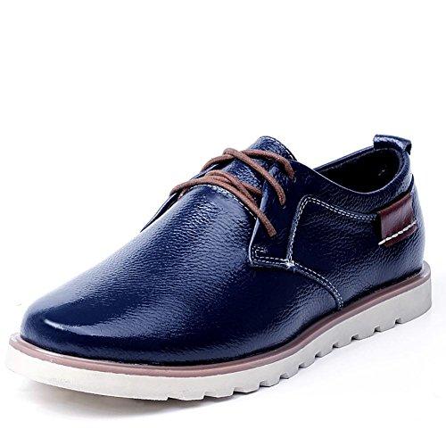 SONGYUNYAN Britannico Business Casual strato traspirante in pelle Oxford Rockport maschile , blue , 43