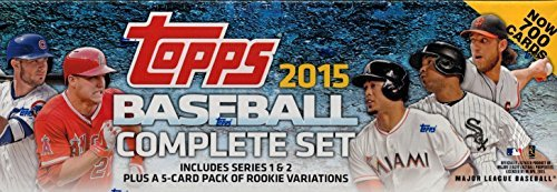 Mlb All Mlb Teams 2015 Topps Complete Factory Set Blue Small
