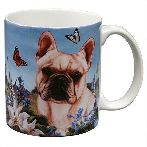 French Bull Dog Garden Party Fun Mug